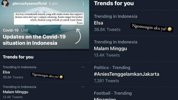 Elsa jadi trending topik nomor satu di twitter