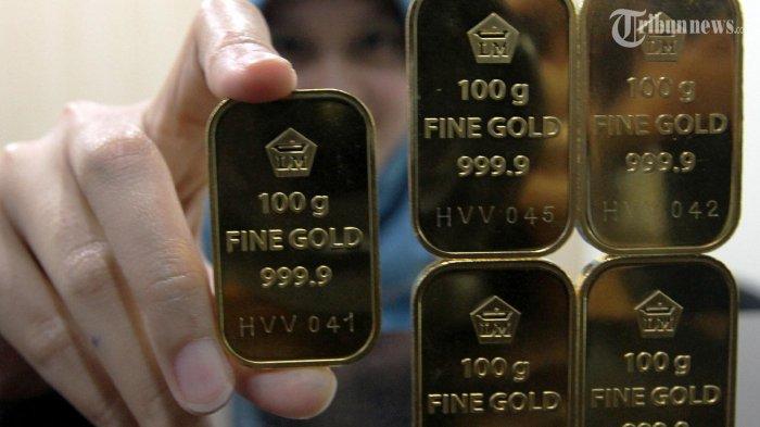 Update Harga Emas Hari Ini di Pegadaian,Naik Rp 5000 dari Harga Perdagangan Sebelumnya