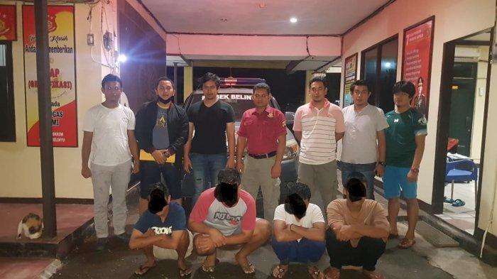 Polisi Ringkus Empat Remaja Belinyu yang Nekat Curi Motor di Sungailiat