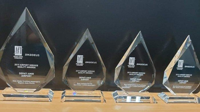 Bandara Depati Amir Pangkalpinang Sabet Empat Penghargaan Airport Council International