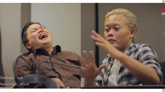 Kisah Masa Kecil Menteri BUMN Erick Thohir, Pernah Bandel Pecahkan Celengan Demi Main Biji Karet