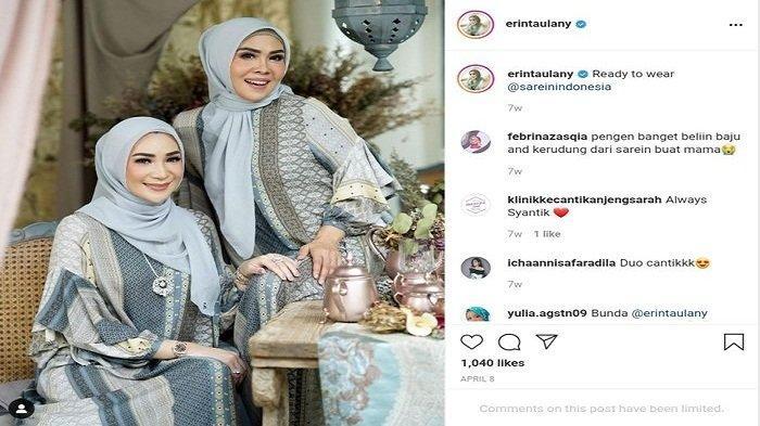 Erin Taulany Jadi Foto Model untuk Fashion Muslim