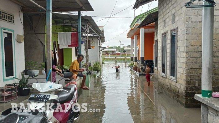 Rumah Langganan Banjir, Sejak Pagi Air Masuk ke Rumah, Erlina Berharap Ada Bantuan Pemerintah