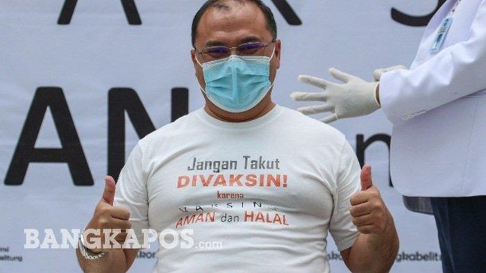 Bangka Belitung Dapat Jatah 24.700 Dosis Vaksin untuk Pekerja Publik, Disuntik Awal Maret 2021