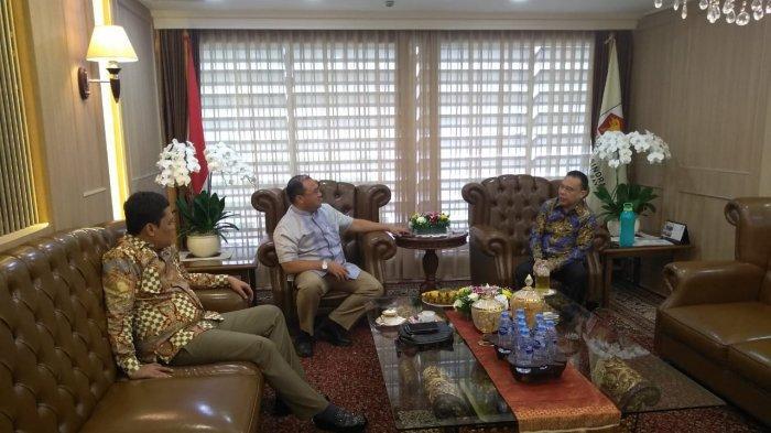 Audiensi dengan Wakil Ketua DPR RI, Erzaldi Minta Royalti Timah Ditambah