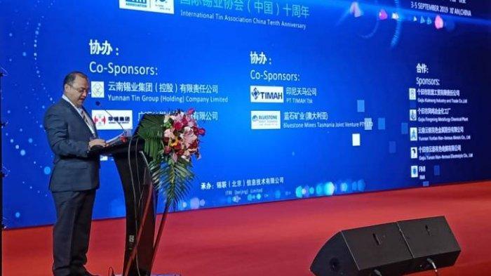 Gubernur Erzaldi Ungkapkan Harapan pada JFX Sebagai Bursa Timah di Asia Tin Week