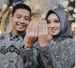 Pemain Timnas Evan Dimas Resmi Persunting Pujaan Hatinya Dewi Zahrani, Intip Foto Akad Nikah