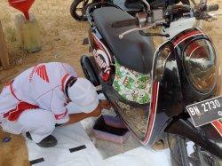 Honda TDM Payung Mengadakan Servis Ekonomis di Desa Payung