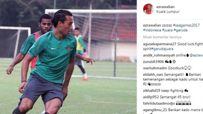 Timnas Indonesia vs Thailand, Netizen Beri Semangat untuk Ezra Walian, Namun Luis Milla Lakukan Ini