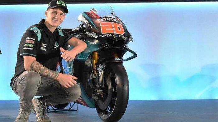 Jelang MotoGP Perancis 2020, Pebalap Quartararo Hanya Selisih 8 Poin dari Joan Mir