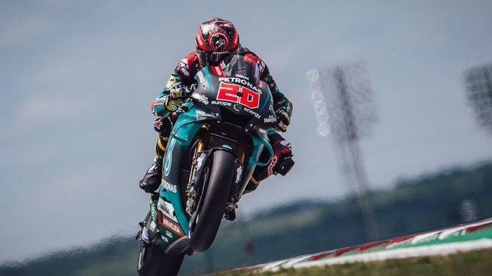 Gagal Jadi Juara Dunia, Ini Curhat Quartararo Setelah Jatuh di MotoGP Valencia