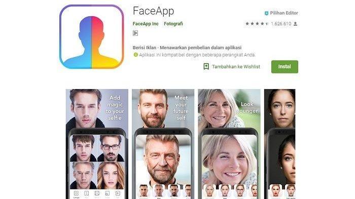 Lagi Tren! Link Download dan Cara Menggunakan Aplikasi FaceApp untuk 'Oplas Challenge'