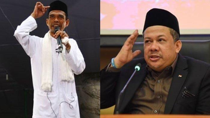 Pegawai KPK Ditegur Pimpinan Gegara Undang Ustaz Abdul Somad, Fahri Hamzah: Anda Jadi Musuh Saya