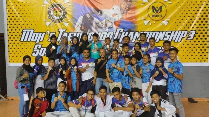FTPC Raih 28 Medali Open Turnamen Mok's Taekwondo Championship 3 di Palembang