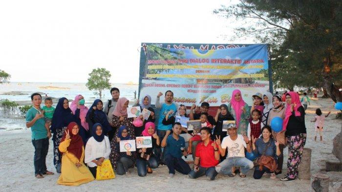 Family Gathering PAFI Bateng Berlangsung Seru, Ada Game Asyik dan Bersih-bersih Pantai