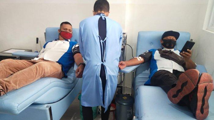 Kegiatan donor darah yang diikuti oleh karyawan FIFGROUP Cabang Pangkal Pinang pada 08 Maret 2021 berlokasi di Kantor Palang Merah Indonesia (PMI) Kota Pangkal Pinang.