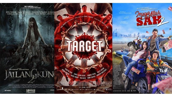 Komedi hingga Horor, Ini 5 Film Indonesia yang Tayang di Bioskop saat Libur Lebaran 2018