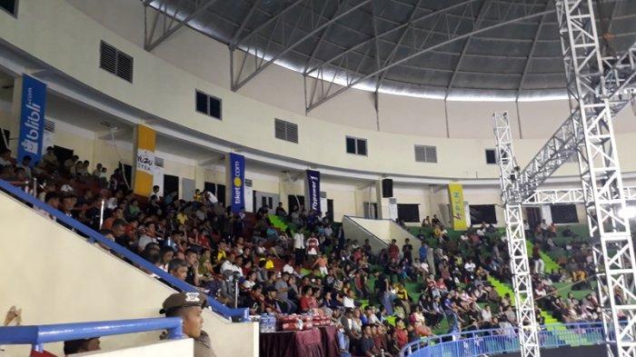 Kejurnas PBSI Babel, Pecinta Olahraga Senang Saksikan Atlet Nasional Tanding Secara Langsung