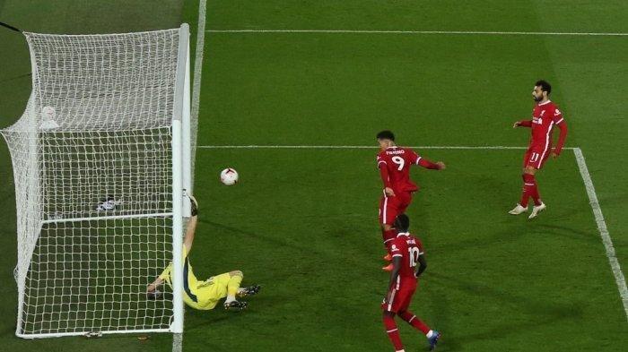 Hasil Liga Inggris Liverpool vs Sheffield, Firmino Cetak Gol Perdana The Reds Unggul 2-1