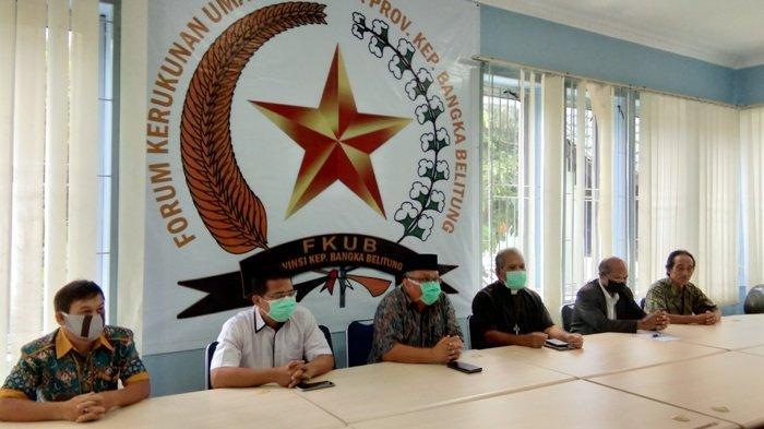 FKUB Bangka Belitung Imbau Masyarakat Tidak Mudik dan Terapkan Physical Distancing