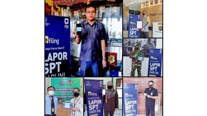 Sapto Datangi Enam Pejabat Forkopimda di Bangka Barat, Ajak Lapor SPT Tahunan