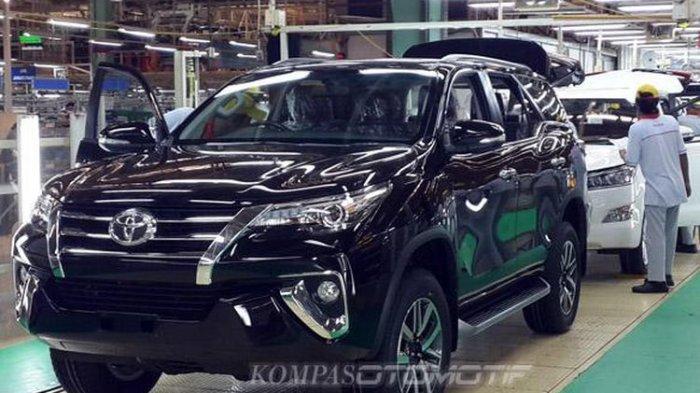 Setelah MPV Sejuta Umat Avanza, Si Macho Fortuner Mendominasi Ekspor Toyota