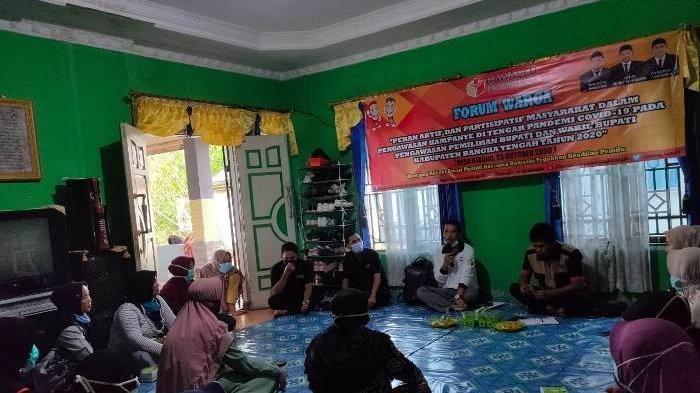 Ajak Masyarakat Kawal Pilkada, Bawaslu Bangka Tengah Gelar Forum Warga