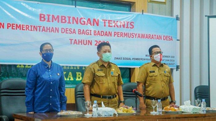 Bimtek Penguatan Kapasitas, Soleh: BPD dan Kades Harus Sinergi Membangun Desa