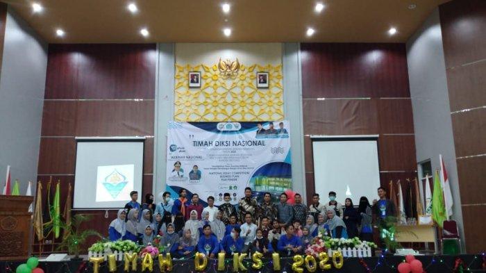 Penerima Beasiswa Bidikmisi se-Indonesia Kumpul di 'Timah Diksi Nasional 2020' IAIN SAS Babel