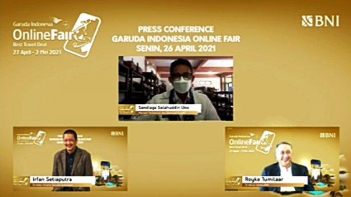 Garuda Indonesia Gelar Travel Fair, Diskon Tiket Hingga 86 Persen Rute Domestik Destinasi Unggulan