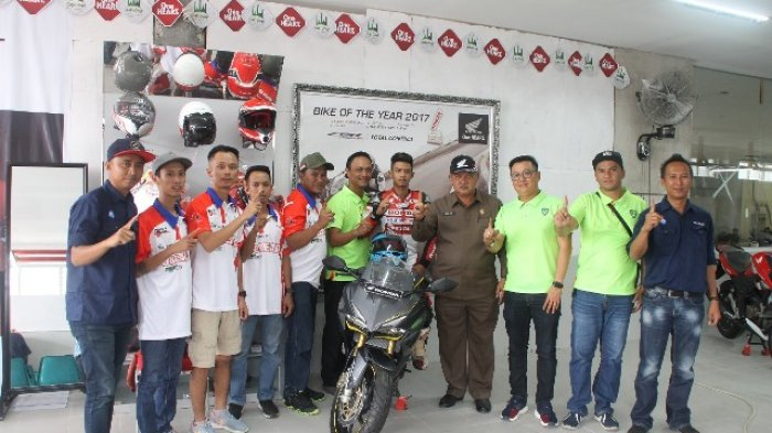 Pemkot Pangkalpinang Apresiasi Tim HBRT Honda Tanding di Region 1 Sumatera