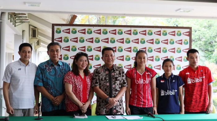 Atlet Bulu Tangkis Andalan Indonesia Absen Dalam Kejurnas Bulu Tangkis 2017