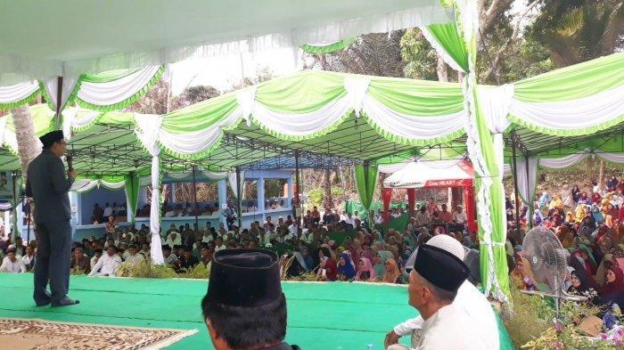 Bupati Markus Hadiri Peringatan Maulid Nabi Muhammad SAW 1441 H