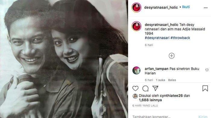 Cantiknya Masa Muda Desy Ratnasari dengan Adjie Massaid, Pantas Sempat Taklukan Hati Irwan Mussry