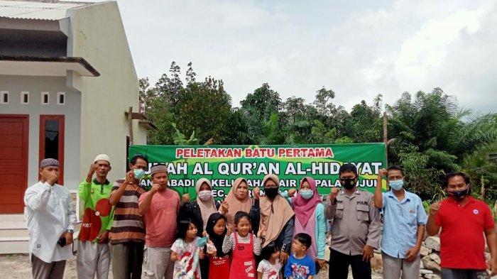 Sukses Bangun Musala, Bripka Mahayudin Bangun Rumah Al-Quran dari Menyisihkan Gajinya