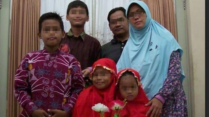 Ternyata Begini Keseharian Keluarga Pelaku Bom Bunuh Diri di Surabaya di Mata Tetangga