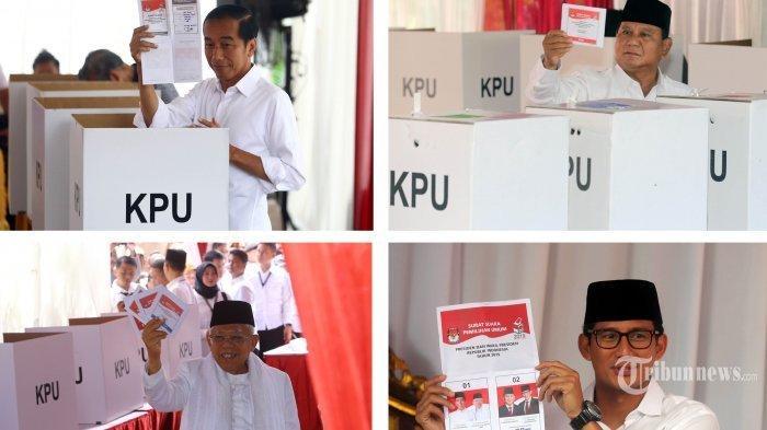 Update Quick Count dan Real Count KPU, Tak Jauh Bergeser hingga Beda Gaya Jokowi dan Prabowo