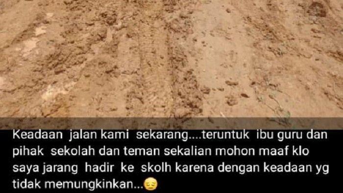 'Teruntuk Ibu Guru dan Teman Sekalian, Maaf Kalau Saya Jarang Hadir' Isi Curhat Siswa di Aceh Timur