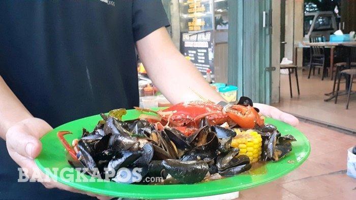 Kerang Good Looking, Jajanan Seafood Pinggir Jalan, Gak Enak Gak Usah Bayar - foto7.jpg