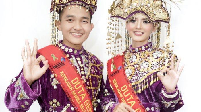 Bayu Sumaya dan Frince Zeswa terpilih menjadi Duta GenRe Kepulauan Bangka Belitung 2020