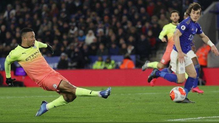 Drama Gagal Penalti, Man City Kalahkan Leicester dengan Skor Tipis