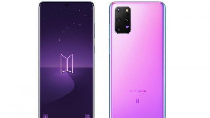 Samsung Rilis Galaxy S20 Plus dan Galaxy Buds Plus Edisi Spesial BTS