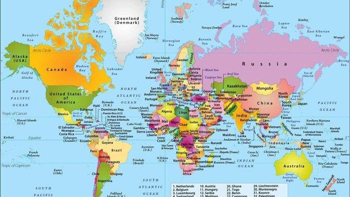 Gambar Peta Dunia yang Selama Ini Kita Lihat Ternyata 'Bohong'