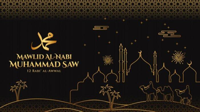 Gambar Ucapan Selamat Maulid Nabi Muhammad SAW Untuk Status WA dan Sosmed