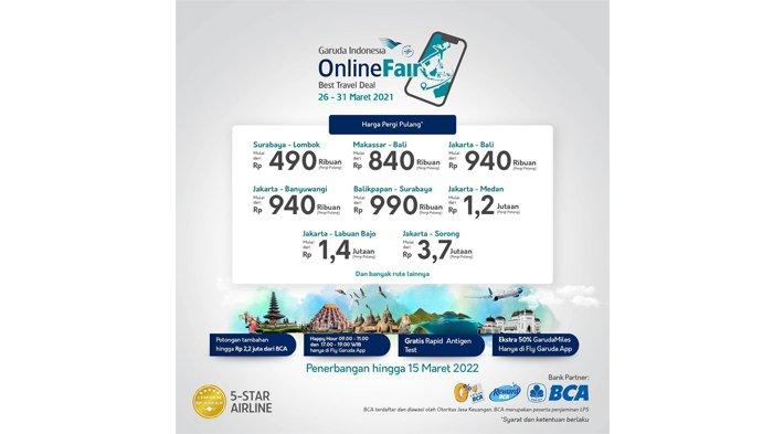 Garuda indonesia Online Fair Best Travel Deal
