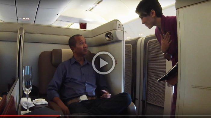 Bikin Iri, Pria Ini Gratis Naik Pesawat Garuda Kelas Satu ke London, Kalau Bayar Harganya Segini