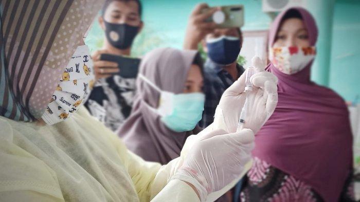 Update Vaksinasi: 992 Tenaga Kesehatan di Bangka Selatan Telah Divaksin