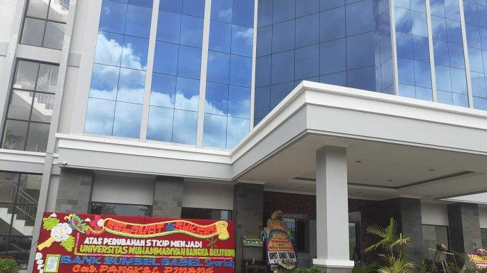 Gedung Universitas Muhammadiyah Bangka Belitung (UMBB).