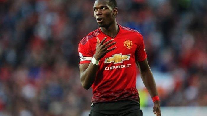 Gelandang Manchester United, Paul Pogba