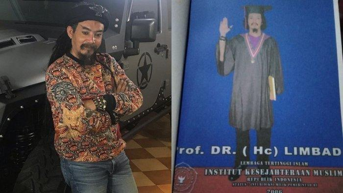 Limbad Pamer Gelar Profesor dan Doktor, tapi Perguruan Tingginya Misterius